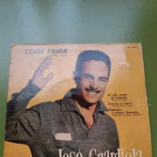 Discos de vinilo: EP ** JOSE GUARDIOLA ** COME PRIMA ** COVER / VERY GOOD +(VG+) ** EP / VERY GOOD + (VG+)** 1958. Lote 96775267