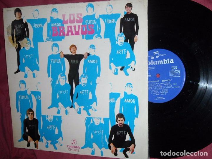 LOS BRAVOS LP - ILUSTRÍSIMOS BRAVOS - LP ORIGINAL 12 TEMAS - EDITADO EN ESPAÑA - AÑO 1969 (Música - Discos - LP Vinilo - Grupos Españoles 50 y 60)