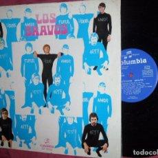 Discos de vinilo: LOS BRAVOS LP - ILUSTRÍSIMOS BRAVOS - LP ORIGINAL 12 TEMAS - EDITADO EN ESPAÑA - AÑO 1969. Lote 96778923