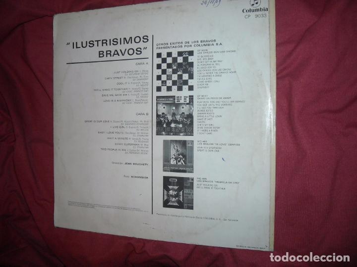 Discos de vinilo: LOS BRAVOS LP - ILUSTRÍSIMOS BRAVOS - LP ORIGINAL 12 TEMAS - Editado en ESPAÑA - año 1969 - Foto 2 - 96778923