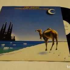 Discos de vinilo: ENRIC HERNÁEZ - UNA FOGUERA DE SANT JOAN EN PLE GENER LP 1986 + ENCARTE CON DEDICATORIA. Lote 96793491