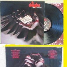 Discos de vinilo: THE STRANGLERS - LIVE (XCERT) 1979 !! PUNK ROCK, RARA COMPLETA 1ª EDIC ORG UK + ENCARTE, TODO EXC. Lote 96794691