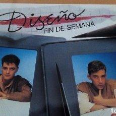 Discos de vinilo: DISEÑO -FIN DE SEMANA-MINILP. Lote 96801359