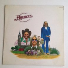 Discos de vinil: AMERICA LP HISTORY AMERICA´S GREATEST HITS 1975. Lote 96811219