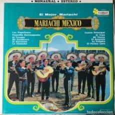 Discos de vinilo: MARIACHI MEXICO - EL MEJOR MARIACHI . LP . 1970 MEXICO . Lote 96816259