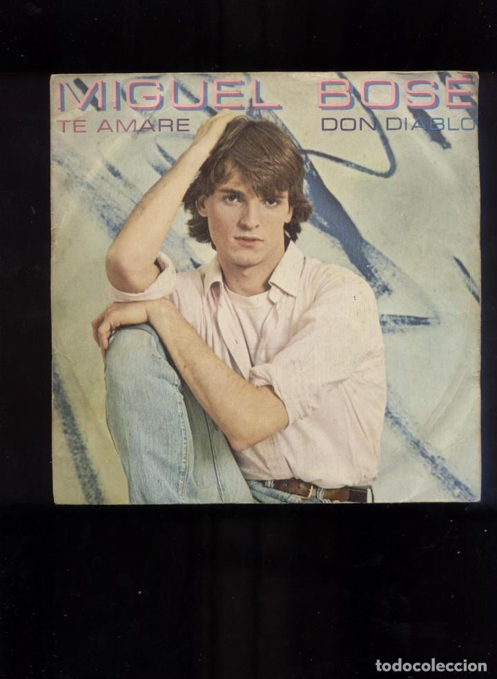 Discos de vinilo: Miguel Bosé single firmado - Foto 2 - 96821027