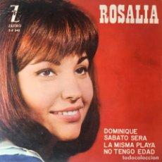 Discos de vinilo: ROSALÍA - DOMINIQUE . SINGLE . 1964 ZAFIRO. Lote 96821823