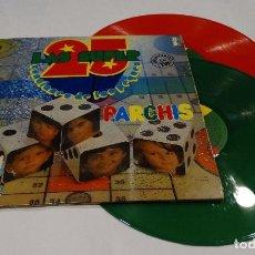 Discos de vinilo: PARCHIS- LAS SUPER CANCIONES DE LOS PEQUES - DOBLE LPS 1978 + DOBLE PORTADA. Lote 96825455