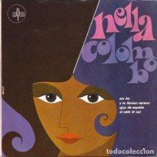 Discos de vinilo: EP- NELLA COLOMBO SIN FIN SAYTON 1 SPAIN 1967. Lote 96826971