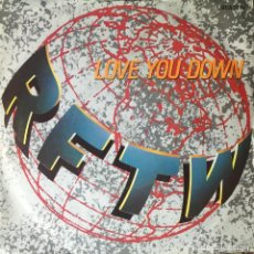 Discos de vinilo: RFTW - LOVE YOU DOWN . SINGLE . 1986 UK . Lote 96853751