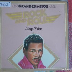 Discos de vinilo: LP - LLOYD PRICE - LOS GRANDES MITOS DEL ROCK AND ROLL (SPAIN, ABC RECORDS 1977). Lote 96861639