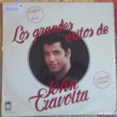 Discos de vinilo: LP - JOHN TRAVOLTA - LOS GRANDES EXITOS (DOBLE DISCO, SPAIN, MIDSONG INTERNATIONAL 1979). Lote 96862675