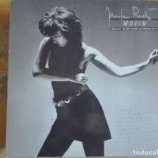 Disques de vinyle: LP - JENNIFER RUSH - MOVIN' (SPAIN, CBS 1985). Lote 96863759