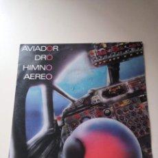 Discos de vinilo: CN PORTADA MAXI AVIADOR DRO (SOLO CARATULA / ONLY COVER) HIMNO AEREO MOVIDA MADRILEÑA TECHNO. Lote 146151744