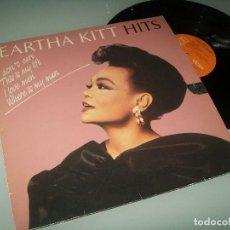 Discos de vinilo: EARTHA KITT - HITS .. LP DE 1986 - RCA VICTOR ..EDICION ESPAÑOLA - BLACK SCORPIO. Lote 96878839