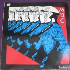 Discos de vinilo: MDC MILLIONS DEAD COPS LP VIRUS 1982 - DEAD KENNEDYS - HARD CORE - PUNK - BAD BRAINS - BLACK FLAG. Lote 96879879