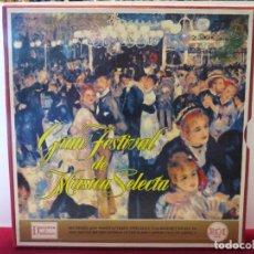 Discos de vinilo: ALBUM 12 DISCOS DE VINILO LP - GRAN FESTIVAL DE MUSICA SELECTA RCA. Lote 96895935