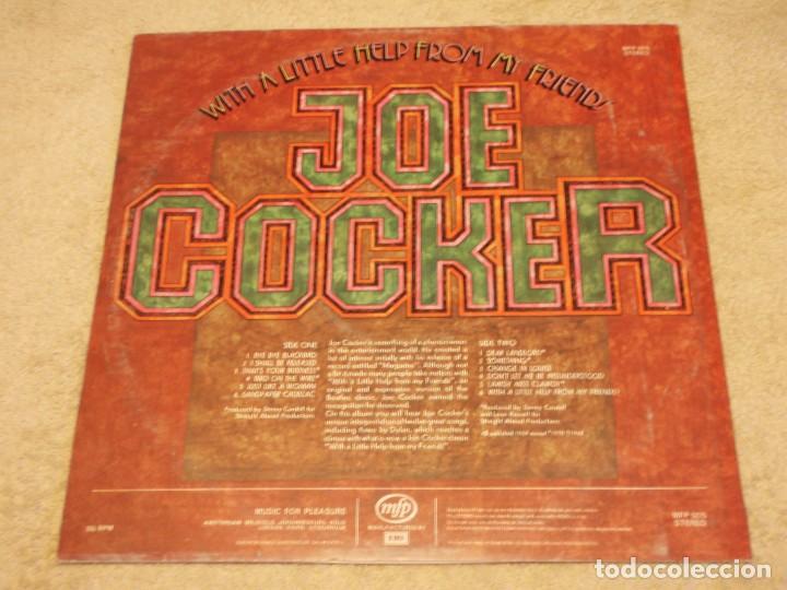 Discos de vinilo: JOE COCKER ( WITH A LITTLE HELP FROM MY FRIENDS ) ENGLAND-1971 LP33 MFP - Foto 2 - 96904551