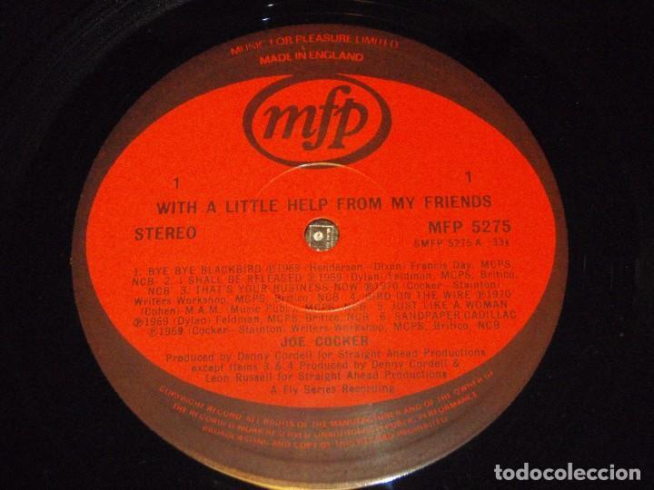 Discos de vinilo: JOE COCKER ( WITH A LITTLE HELP FROM MY FRIENDS ) ENGLAND-1971 LP33 MFP - Foto 5 - 96904551