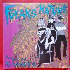 Discos de vinilo: FREAKS OF NATURE - SONGS FOR SAVAGES - LP - 2015 - GARAGE PUNK. Lote 96905795