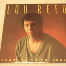 Discos de vinilo: LOU REED ( GROWING UP IN PUBLIC ) USA 1980-SWEDEN LP33 ARISTA. Lote 96910467