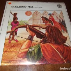 Discos de vinilo: GRANDES RELATOS JUVENILES,GUILLERMO TELL VOL.8. Lote 96929183