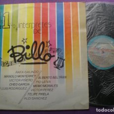 Discos de vinilo: 11 INTERPRETES DE BILLO - LP VENEZUELA DISCOMODA 1988 // FELIPE PIRELA CHEO PIO LEIVA MEMO MORALES. Lote 96938547