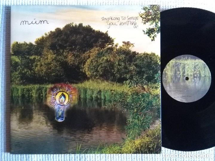 MUM - '' SING ALONG TO SONGS YOU DON'T KNOW '' 2 LP + LINK 45RPM GATEFOLD 2009 EU (Música - Discos - LP Vinilo - Pop - Rock Extranjero de los 90 a la actualidad)