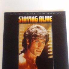 Discos de vinilo: STAYING ALIVE ( 1983 RSO ESPAÑA ) BEE GEES SYLVESTER FRANK STALLONE JOHN TRAVOLTA CYNTHIA. Lote 96943179