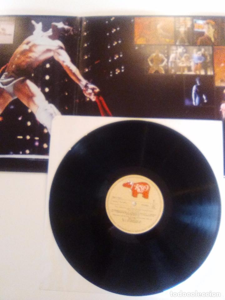 Discos de vinilo: STAYING ALIVE ( 1983 RSO ESPAÑA ) BEE GEES SYLVESTER FRANK STALLONE JOHN TRAVOLTA CYNTHIA - Foto 3 - 96943179