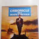 Discos de vinilo: CHRONICLE OF A DEATH FORETOLD CRONICA DE UNA MUERTE ANUNCIADA ( 1987 VIRGIN UK) PIERO PICCIONI. Lote 96943595