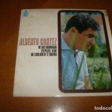 Discos de vinilo: EP : ALBERTO CORTEZ : ED SPAIN BUEN ESTADO. Lote 96944555
