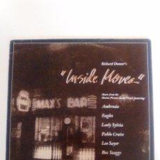 Discos de vinilo: INSIDE MOVES ( 1980 WARNER USA ) AMBROSIA EAGLES PABLO CRUISE BOZ SCAGGS LEO SAYER SPINNERS. Lote 96944651