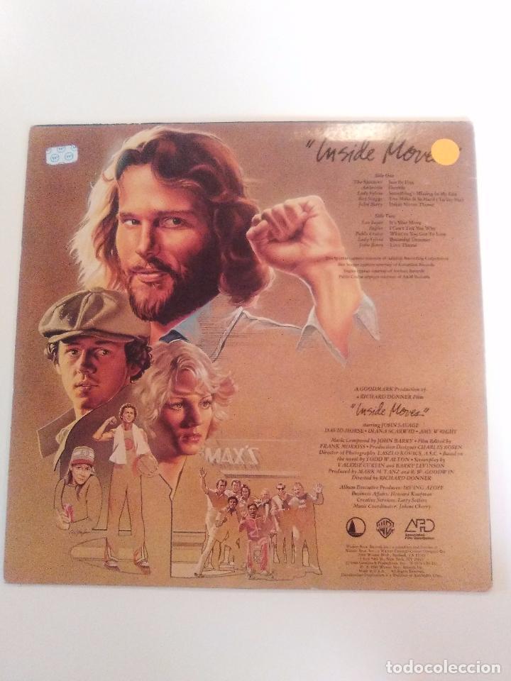 Discos de vinilo: INSIDE MOVES ( 1980 WARNER USA ) AMBROSIA EAGLES PABLO CRUISE BOZ SCAGGS LEO SAYER SPINNERS - Foto 2 - 96944651