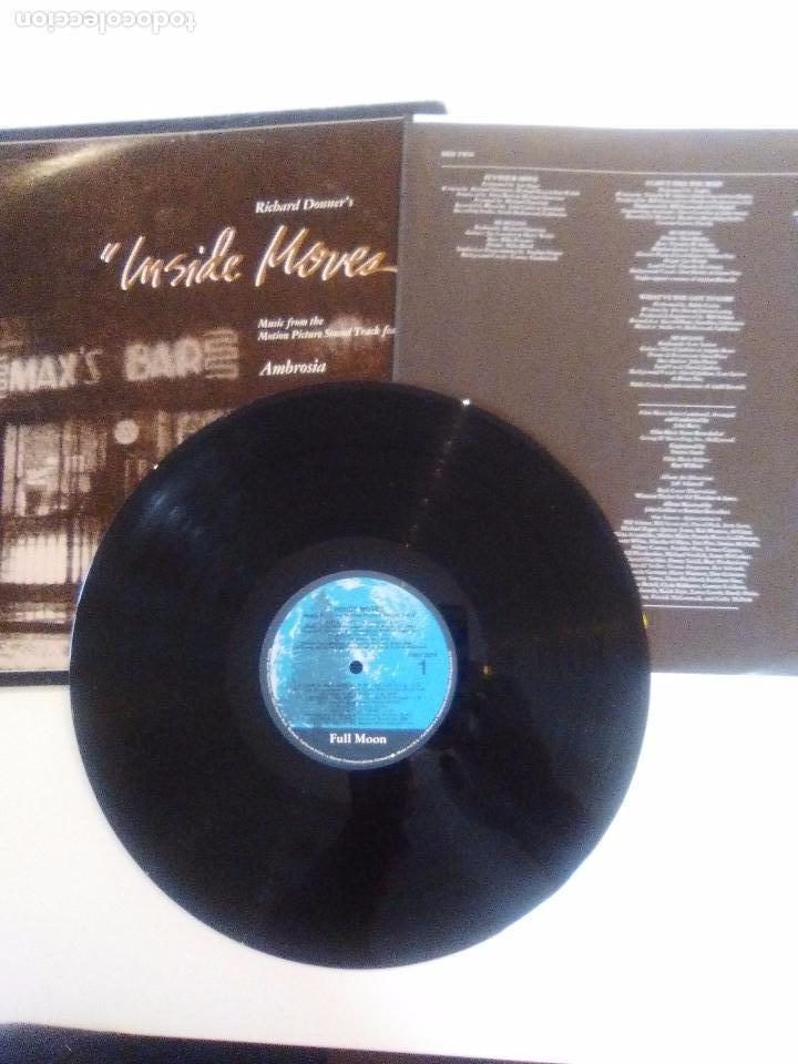 Discos de vinilo: INSIDE MOVES ( 1980 WARNER USA ) AMBROSIA EAGLES PABLO CRUISE BOZ SCAGGS LEO SAYER SPINNERS - Foto 3 - 96944651