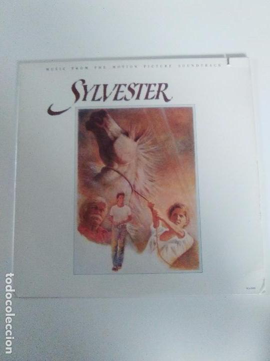 SYLVESTER ( 1985 CURB RECORDS USA) LOS LOBOS CRUZADOS TEXTONES CARLA OLSON RANK AND FILE GAIL DAVIES (Música - Discos - LP Vinilo - Bandas Sonoras y Música de Actores )