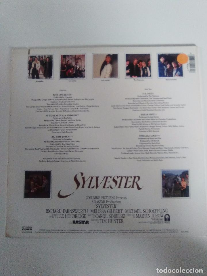 Discos de vinilo: SYLVESTER ( 1985 CURB RECORDS USA) LOS LOBOS CRUZADOS TEXTONES CARLA OLSON RANK AND FILE GAIL DAVIES - Foto 2 - 96955307
