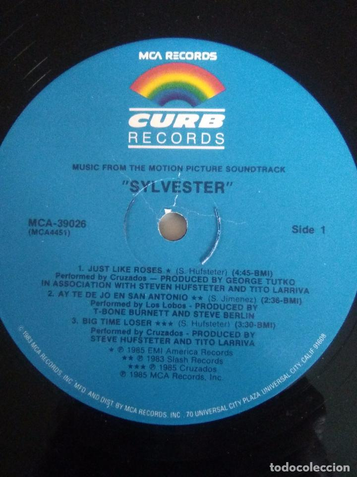 Discos de vinilo: SYLVESTER ( 1985 CURB RECORDS USA) LOS LOBOS CRUZADOS TEXTONES CARLA OLSON RANK AND FILE GAIL DAVIES - Foto 4 - 96955307