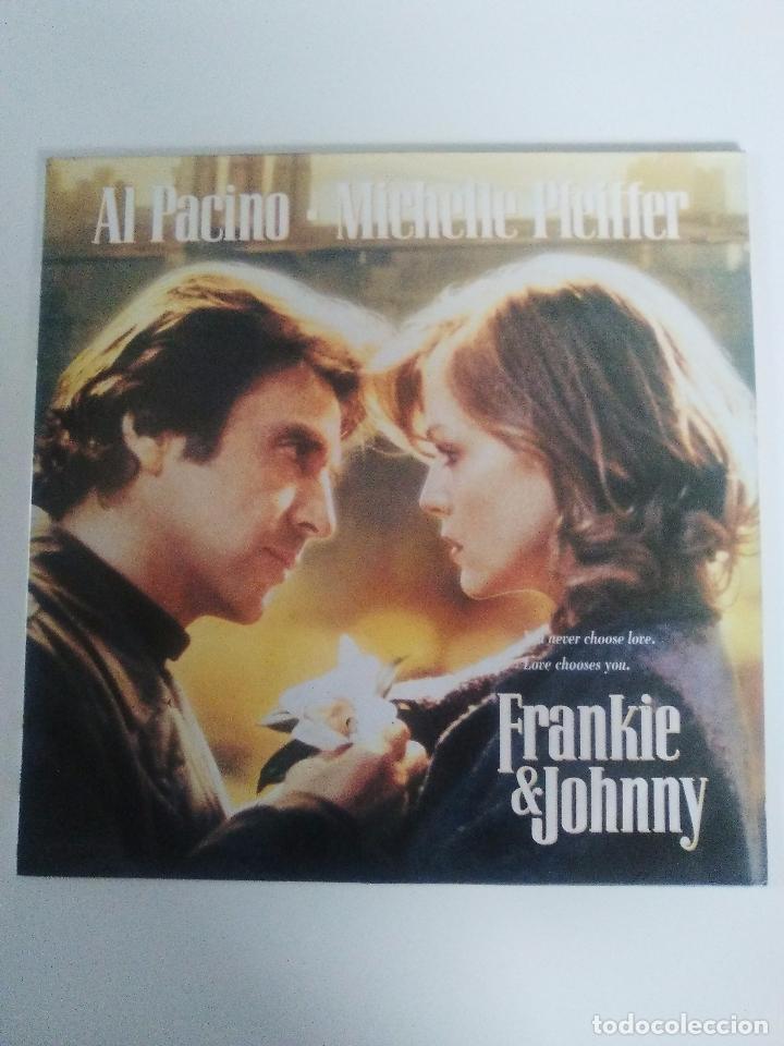 FRANKIE & JOHNNY ( 1991 CURB RECORDS ESPAÑA ) JAMES INTVELD DOOBIE BROTHERS ANGEL GOLDEN EARRING (Música - Discos - LP Vinilo - Bandas Sonoras y Música de Actores )