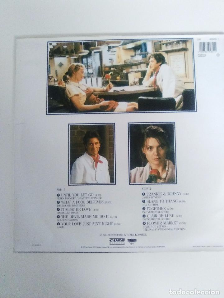 Discos de vinilo: FRANKIE & JOHNNY ( 1991 CURB RECORDS ESPAÑA ) JAMES INTVELD DOOBIE BROTHERS ANGEL GOLDEN EARRING - Foto 2 - 96955427