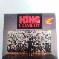 Discos de vinilo: THE KING OF COMEDY EL REY DE LA COMEDIA ( 1983 WARNER GERMANY ) VAN MORRISON PRETENDERS SCORSESE . Lote 96955683
