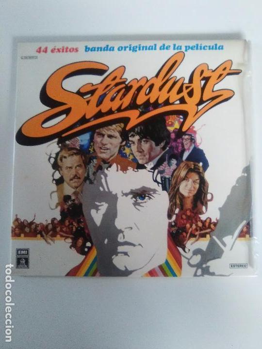 STARDUST 2LP ( 1975 EMI ESPAÑA ) DAVE EDMUNDS THE STRAY CATS DAVID ESSEX JIMI HENDRIX ANIMALS WHO (Música - Discos - LP Vinilo - Bandas Sonoras y Música de Actores )