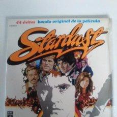 Discos de vinilo: STARDUST 2LP ( 1975 EMI ESPAÑA ) DAVE EDMUNDS THE STRAY CATS DAVID ESSEX JIMI HENDRIX ANIMALS WHO . Lote 96960847