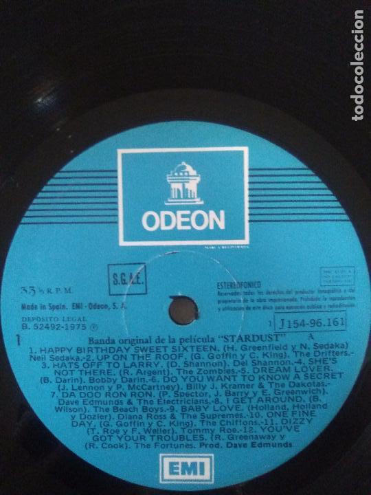 Discos de vinilo: STARDUST 2LP ( 1975 EMI ESPAÑA ) DAVE EDMUNDS THE STRAY CATS DAVID ESSEX JIMI HENDRIX ANIMALS WHO - Foto 5 - 96960847