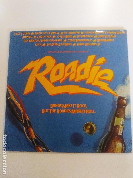 ROADIE 2LP ( 1980 WARNER ESPAÑA ) BLONDIE CHEAP TRICK ALICE COOPER STYX ROY ORBISON JERRY LEE LEWIS (Música - Discos - LP Vinilo - Bandas Sonoras y Música de Actores )