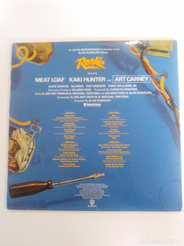 Discos de vinilo: ROADIE 2LP ( 1980 WARNER ESPAÑA ) BLONDIE CHEAP TRICK ALICE COOPER STYX ROY ORBISON JERRY LEE LEWIS - Foto 2 - 96961263
