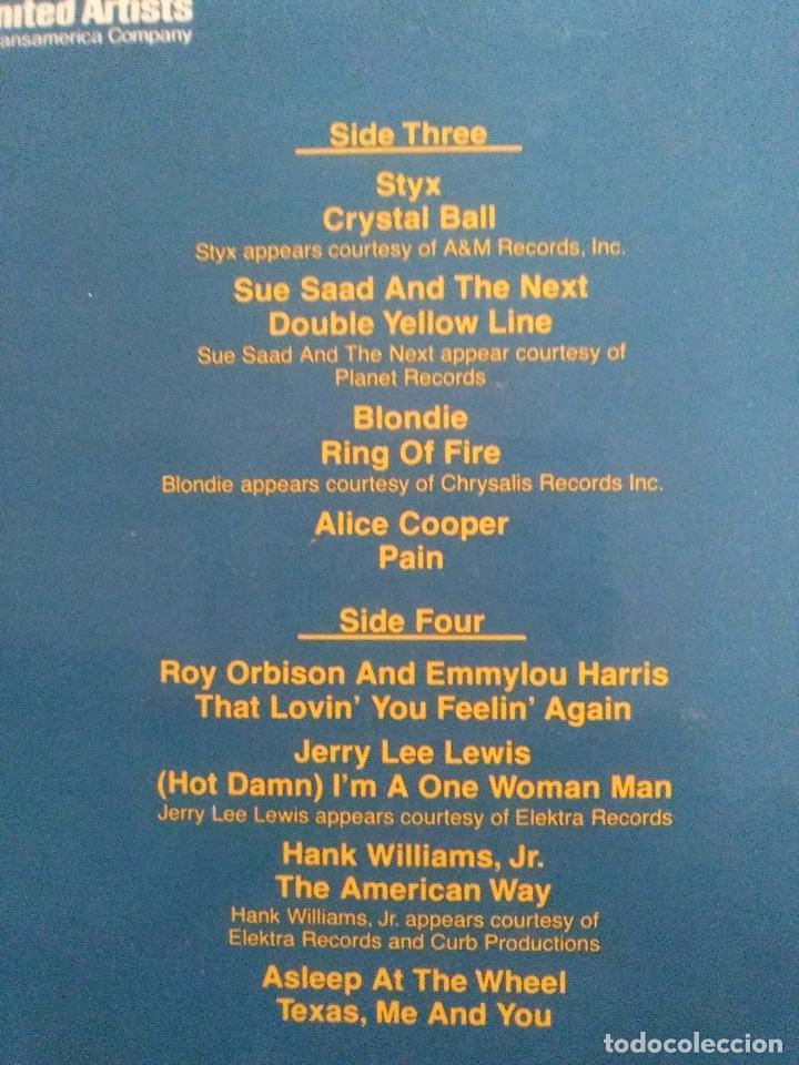 Discos de vinilo: ROADIE 2LP ( 1980 WARNER ESPAÑA ) BLONDIE CHEAP TRICK ALICE COOPER STYX ROY ORBISON JERRY LEE LEWIS - Foto 3 - 96961263