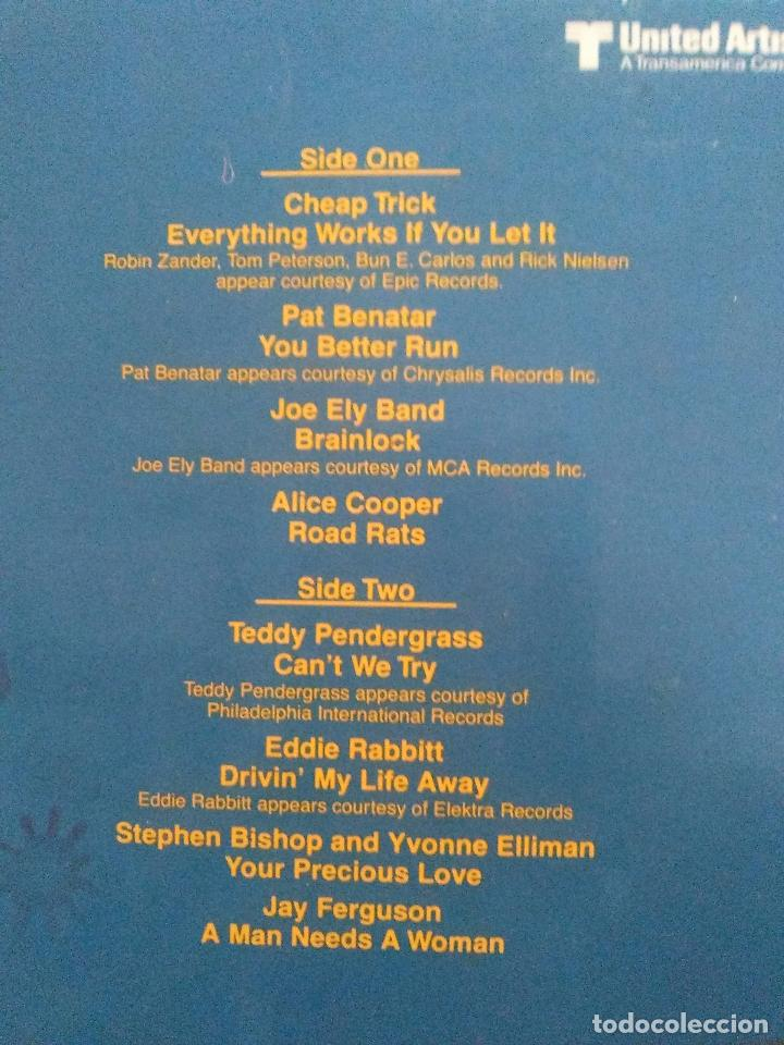 Discos de vinilo: ROADIE 2LP ( 1980 WARNER ESPAÑA ) BLONDIE CHEAP TRICK ALICE COOPER STYX ROY ORBISON JERRY LEE LEWIS - Foto 4 - 96961263