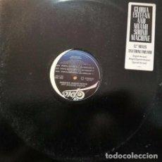 Discos de vinilo: GLORIA ESTEFAN ANYTHING FOR YOU - MAXI SINGLE PROMOCIONAL MADE IN USA CON 6 REMIXES. Lote 96962919