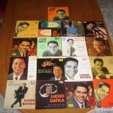 Discos de vinilo: LOTE 17 EP'S : LUCHO GATICA : ED SPAIN EN BUEN ESTADO EX. Lote 96969171